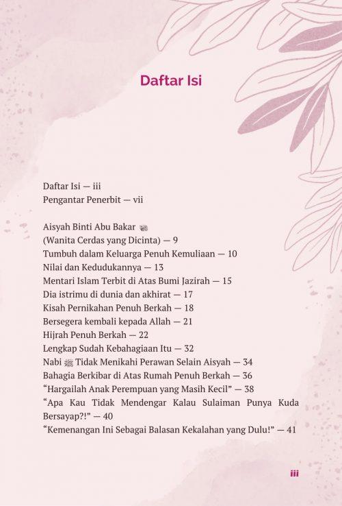 Daftar Isi Aisyah & Khadijah - AQWAM-1