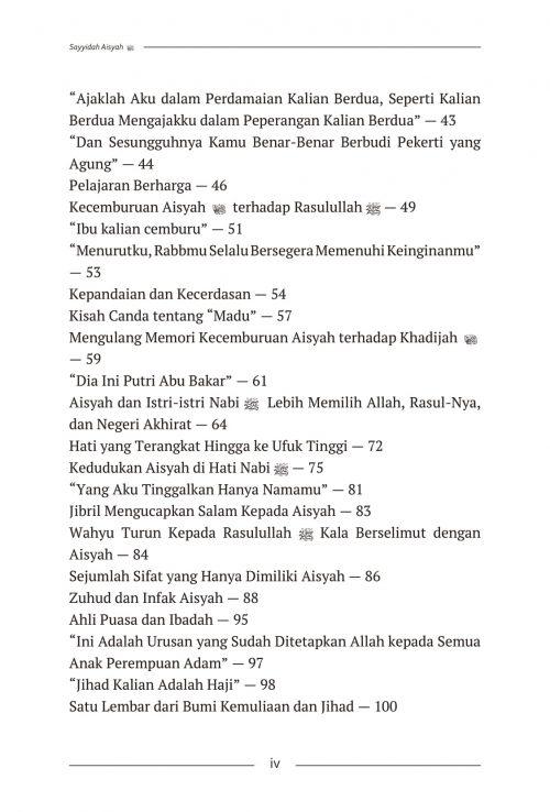 Daftar Isi Aisyah & Khadijah - AQWAM-2