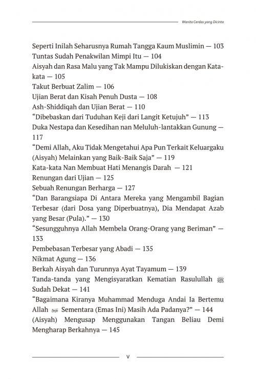 Daftar Isi Aisyah & Khadijah - AQWAM-3