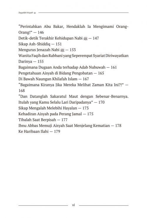 Daftar Isi Aisyah & Khadijah - AQWAM-4
