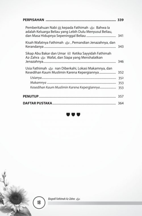 Buku Fatimah Az-Zahra Pemimpin Para Wanita Di Surga