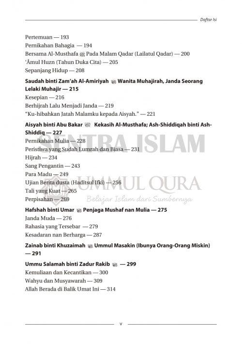 Daftar isi Biografi Istri dan Putri Nabi Ummul Qura-3 copy